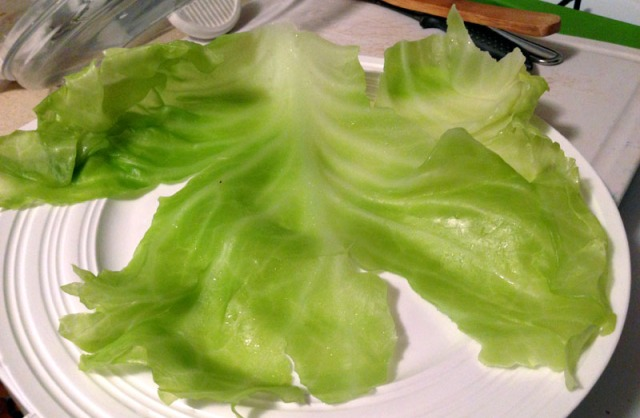 cabbage on plate