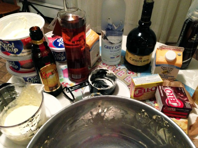 pudding - mess