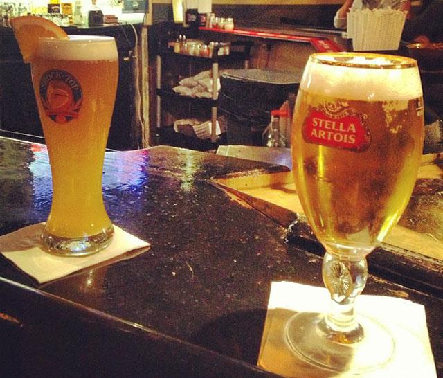 drinks before zumba