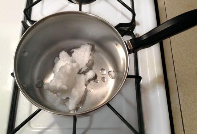 melt oil