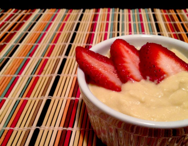 pudding and strawberries3