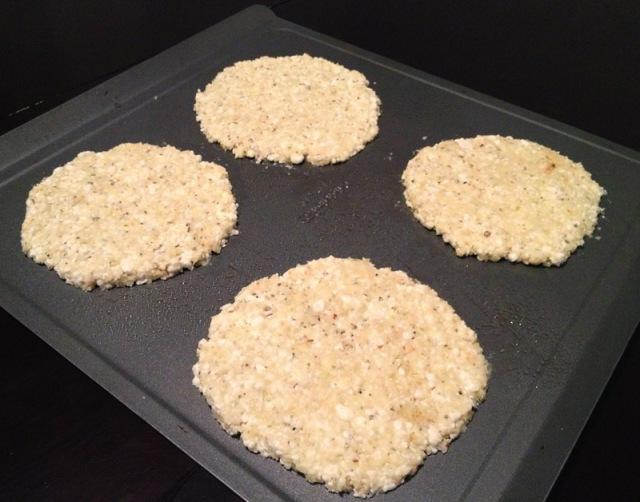 cauliflower crust on sheet2