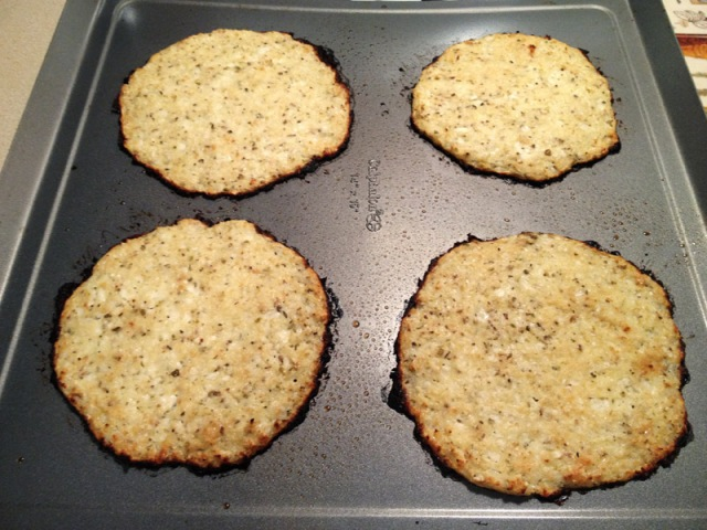 cooked cauliflower crust