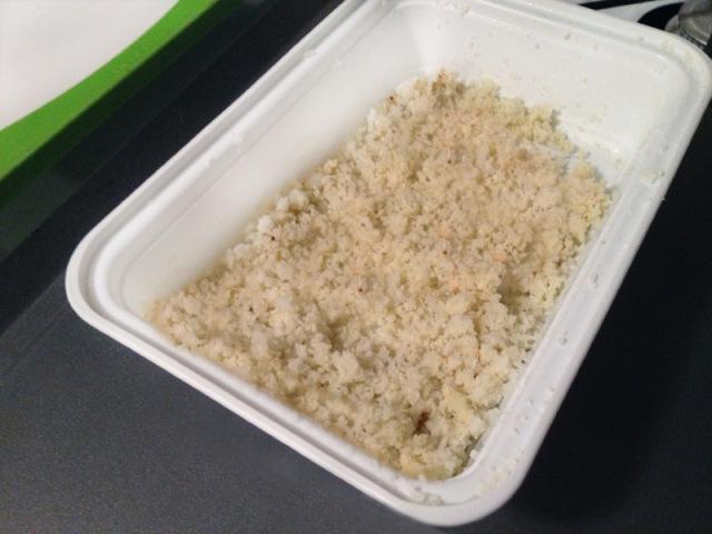 microwaved cauliflower