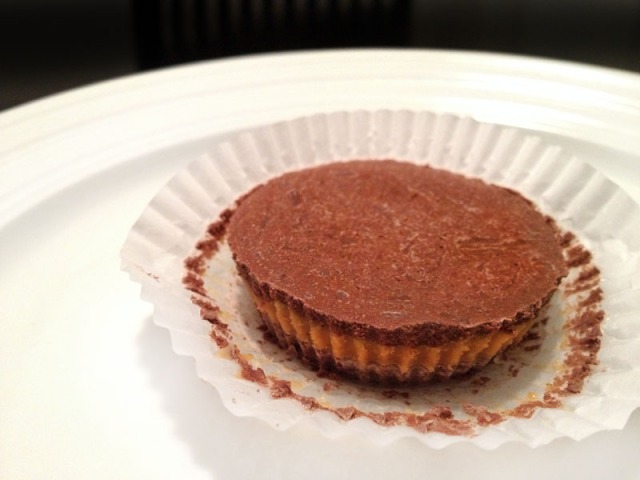 peanut butter cup unwrapped