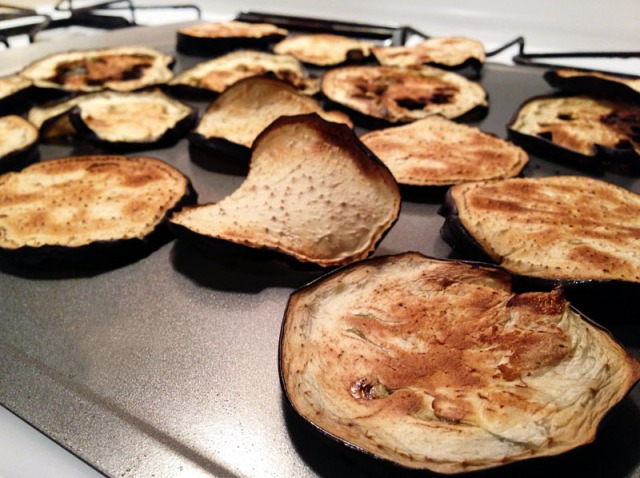 eggplant cooked all the way