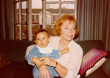 Me and my grandma, 1979.